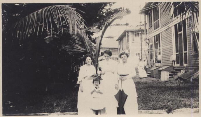Three women and a young girl