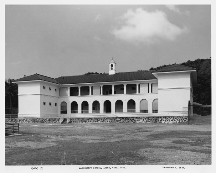 Ancon Elementary School 1959