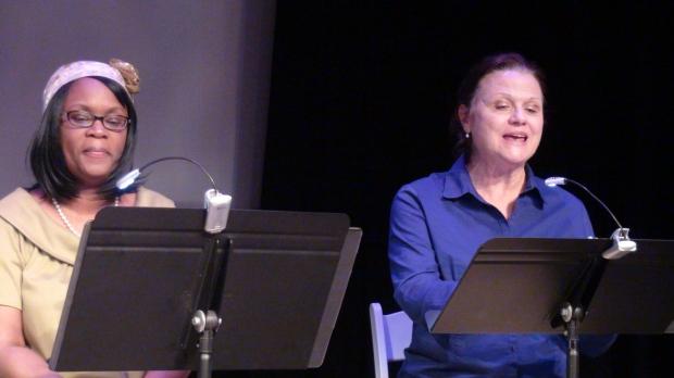 Carol Velasques-Richardson (left) and Kathy Byrne