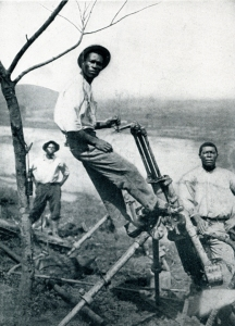 Jamaican workers on the Panama Canal