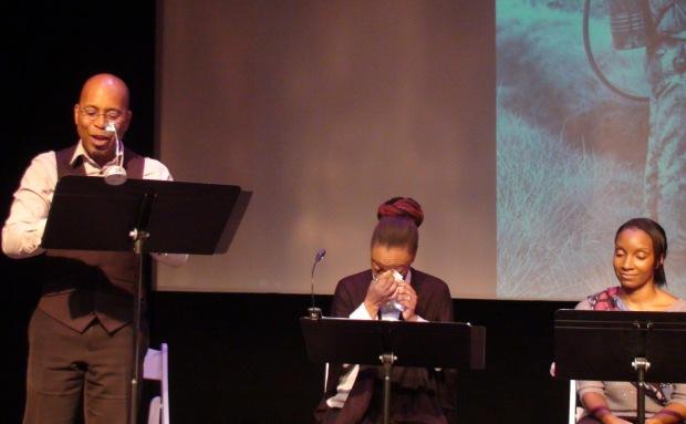 (left to right) Steven H. Butler, Jamali Tyler, and Amanda Edwards